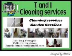 T and I Cleaning services