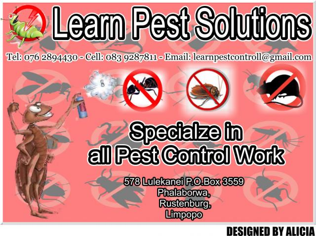 Learn Pest Control