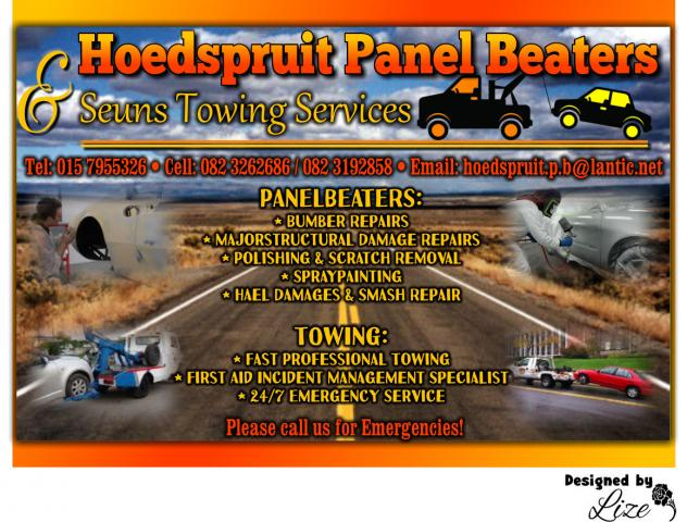Hoedspruit Panel Beaters & Seuns Towing Services