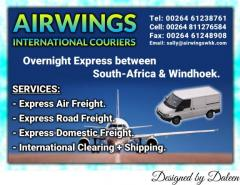 AIRWINGS INTERNATIONAL COURIERS