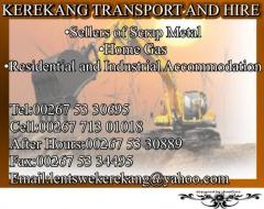 Kerekang Transport and Plant Hire (Pty) Ltd