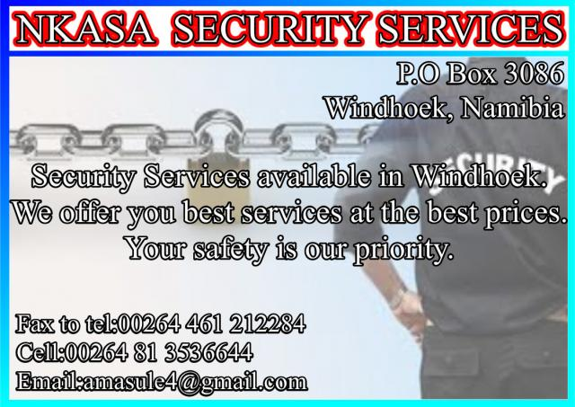 Nkana Security Services cc