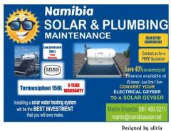 Namibia Solar & Plumbing Maintenance