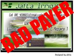 Jafta Irrigation