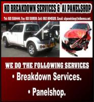 ND Breakdown Services & A1 Panelshop