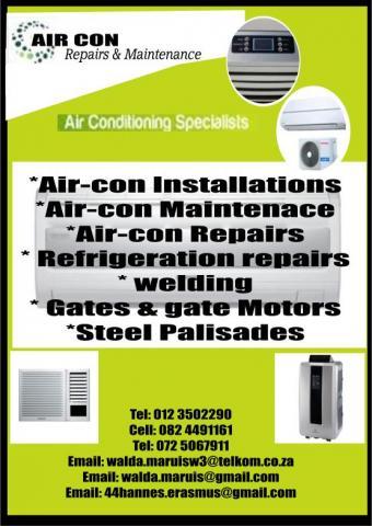 Air-con Repairs & Maintenace