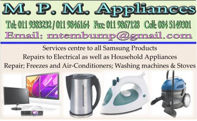 M. P. M. Appliances