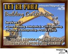 Let Be Pabz Building Construction