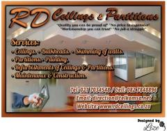 RD Ceilings & Partitions