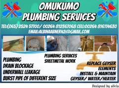 Omukumo Plumbing Services cc