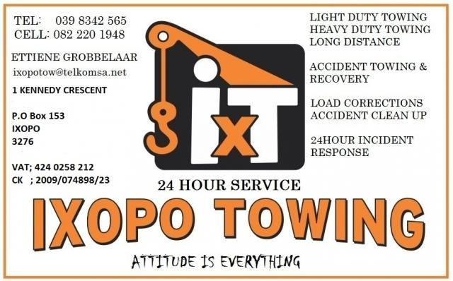 Ixopo Towing Services