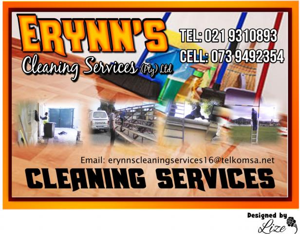 Erynn's Cleaning Services (Pty) Ltd