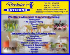 Deckster's Catering