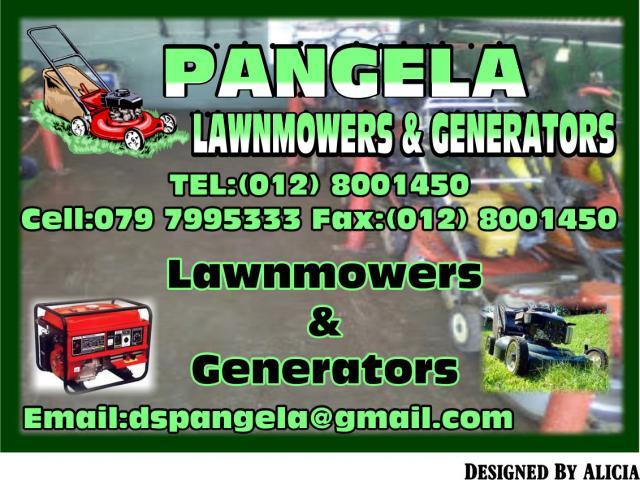 PANGELA LAWNMOWERS & GENERATORS
