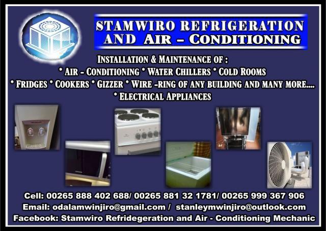 StamWiro Refridgeration and Air - Conditioning