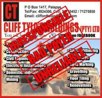 Cliff Tylo's Holdings (Pty) Ltd