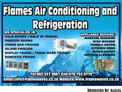 Flames Air Conditioning and  Refrigeration