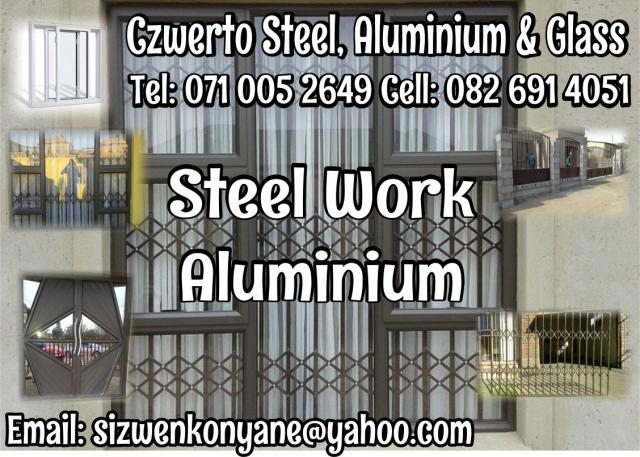 Czwerto Steel, Aluminium & Glass