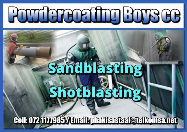 Powdercoating Boys cc