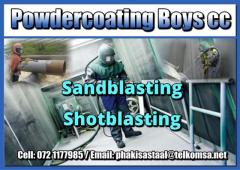 Powdercoating Boys cc