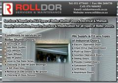 Rolldor Services & Maintenance