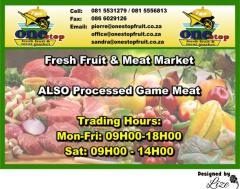 One Stop Fresh Fruit & Meat Market