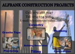 Alfrank Construction Projects