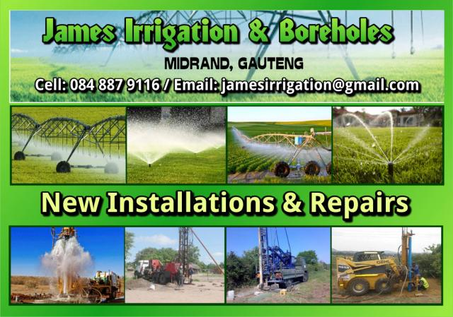 James Irrigation & Boreholes