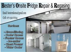 Bester's Onsite Fridge Repair & Regasing