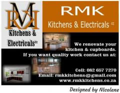 RMK KITCHENS & Electricals cc