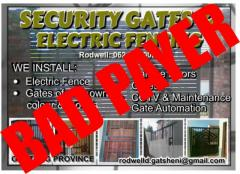 Security Gates & Electric Fencing