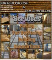 Chedgo Paving & Tar-Surfacing