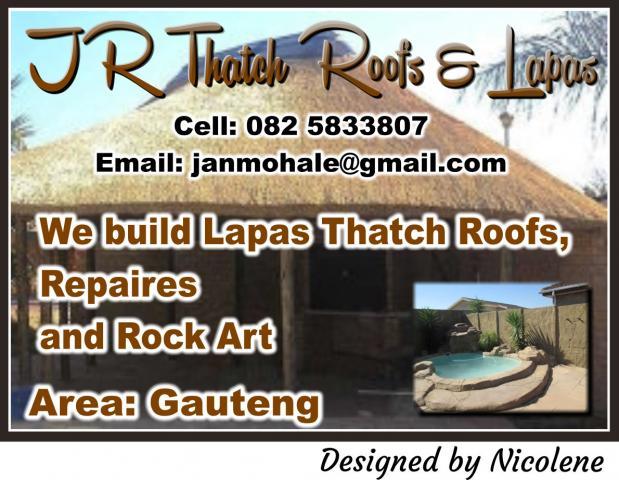 Jr Thatch Roofs Lapas Pretoria Business Directory