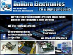 Dalibra Electronics, PC & Laptop Repairs