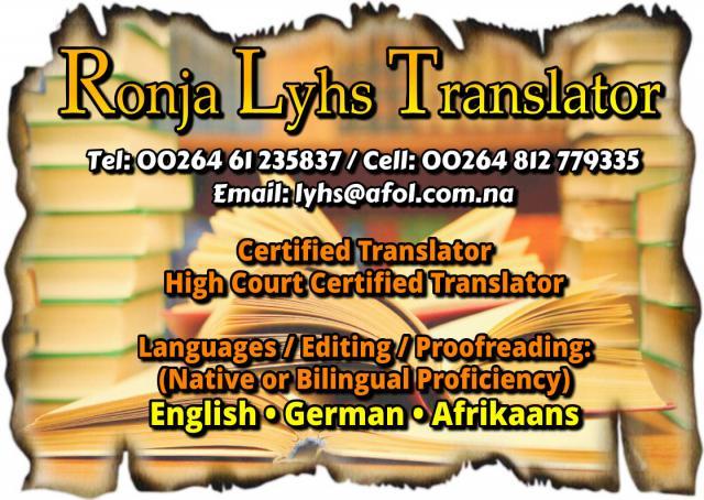 Ronja Lyhs Translator