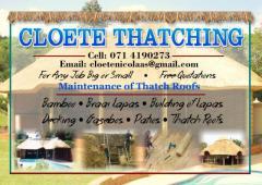 Cloete Thatching