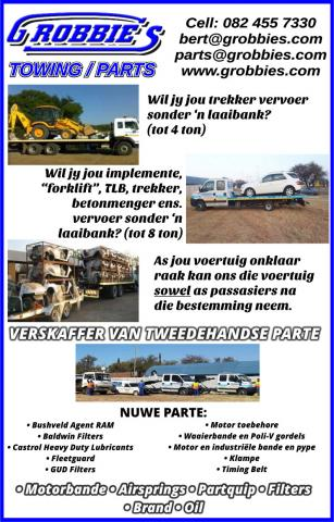 Grobbies Towing / Parts
