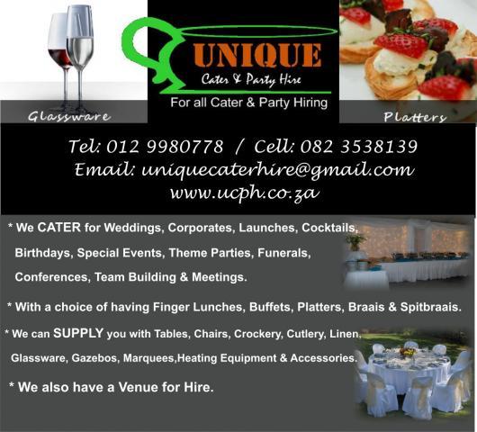 Unique Cater & Party Hire