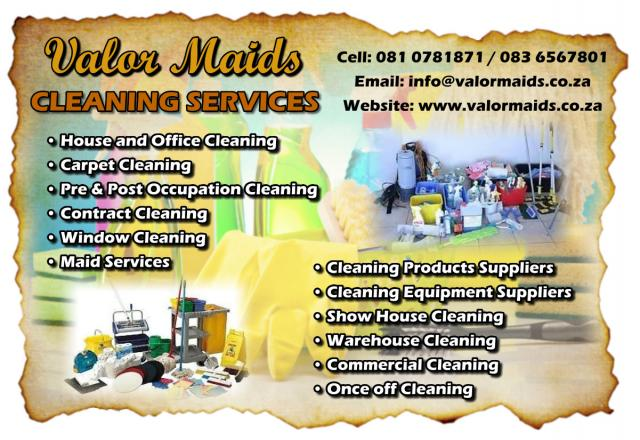 Valor Maids Cleaning Services