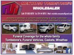 Menyatso Tombstone's Wholesaler