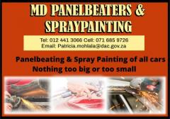 MD PANELBEATERS &   SPRAYPAINTING