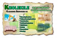 Kholekile Cleaning Services cc