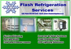 Flash Refrigeration cc