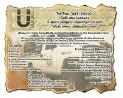 Ubique Heritage Consultants Pty Ltd