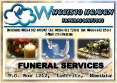Wheels to heaven funeral services