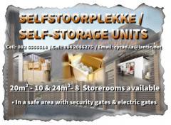 Selfstoorplekke / Self-Storage Units