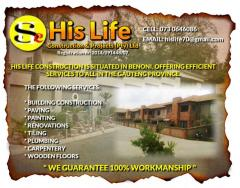 His Life Construction & Projects (Pty) Ltd