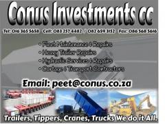Conus Investments cc