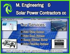 M. Engineering & Solar Power Contractors cc