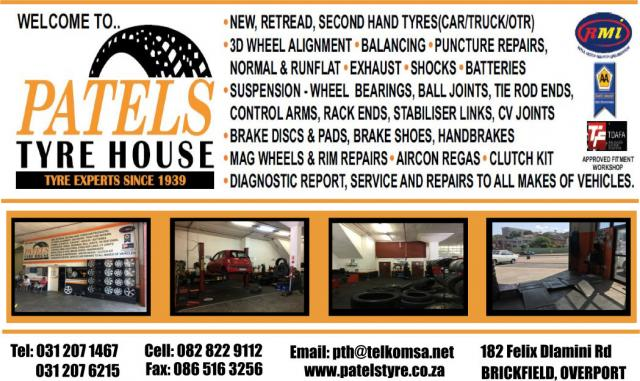 Patels Tyre House